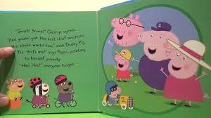peppa pig cartoon book george u0027s racing car fun baby fun fun