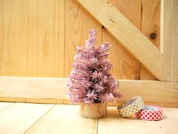 small pink christmas tree small christmas tree pastel pink on luulla