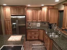 alder wood alpine shaker door kraft maid kitchen cabinets