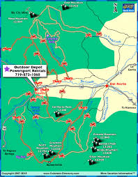 south fork jeeping atv trails map colorado vacation directory