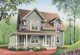 farmhouse floor plan marion heights farmhouse plan 032d 0552 house plans and more