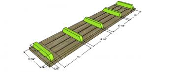 Plans For Building Picnic Table Bench by Free Diy Furniture Plans To Build A Potterybarn Inspired