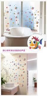 glass door stickers factory wall stickers wholesale cartoon cartoon bubble bath