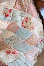 baby rag quilt shabby chic french country 79 00 via etsy