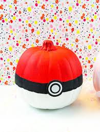 Pokeball Halloween Costume Diy Carve Pokemon Inspired Halloween Pumpkins Brite Bubbly