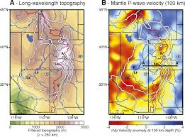 Plateau Of Mexico Map by Mantle Driven Dynamic Uplift Of The Rocky Mountains And Colorado
