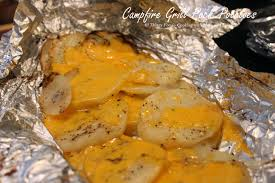 cooking with mary and friends campfire grill pack potatoes