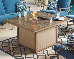 patio furniture with fire pit table fire pits fire tables ashley furniture homestore