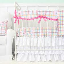 eyelet crib bed skirt baby crib design inspiration