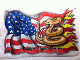 American Flag Design Don U0027t Tread On Me American Flag Design The Only Thing Missing
