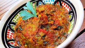 apprendre a cuisiner arabe la recette de la salade zaalouk de la maison arabe