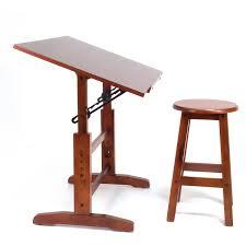 studio designs creative table and stool set walnut walmart com