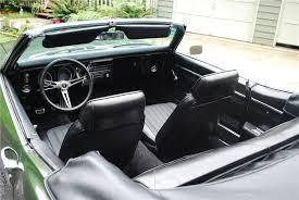 1968 Firebird Interior 1968 Pontiac Firebird Convertible 93564