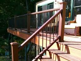 Deck Stair Handrail Height Deck Stair Railing Height Stylish Deck Step Railing U2013 New Home