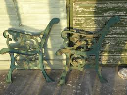 Cast Bench Ends Cast Iron Bench Seat Ends In Seaford Sold Friday Ad