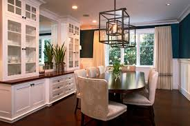 china cabinet design dining room traditional with white molding