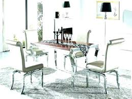 Mirrored Dining Room Furniture Mirrored Dining Room Table The Chairs Mirrored Dining Table