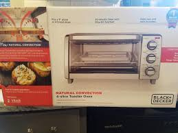 Toaster Oven Pizza Pan Natural Convection Toaster Oven Black Decker