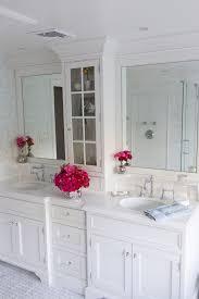 White Bathroom Storage by White Bathroom Vanities Bathroom Farmhouse With Bathroom Mirror