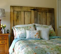 diy headboard u2013 how your own rustic headboard from old doors