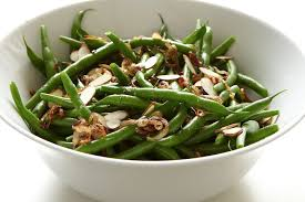 green beans with crisp shallots recipe on food52