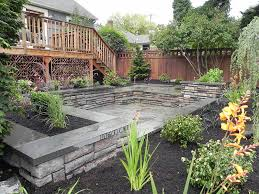 Desert Landscape Ideas For Backyards Backyard Landscape Design Ideas Quiet Corner