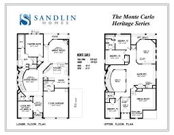 sandlin floorplans monte carlo u2013 sandlin homes