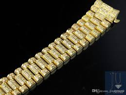 rolex bracelet diamonds images Best ladies president diamond watch band for rolex day date in 18k jpg