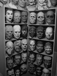 vintage masks chaos countdown masks in black white bizarro central