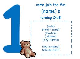 baby boy 1st birthday invitation templates iidaemilia com