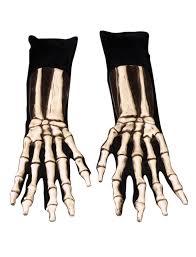 skeleton scary latex gloves halloween costume dress 1005bsg