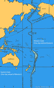 Prime Meridian Map International Date Line Map