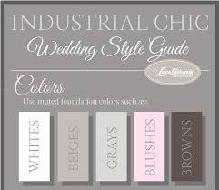 5 must have features of an industrial chic wedding