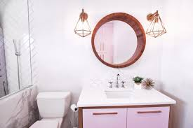 Plum Colored Bathroom Accessories by Charming Purple Glass Bathroom Accessories Images Best Image