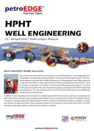 hpht well engineering
