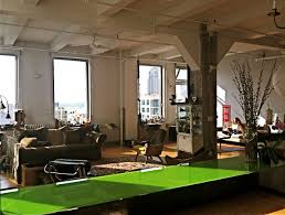 Loft Living Room by Loft Living Nyc Enormous Duplex Off Times Square Home Exchange
