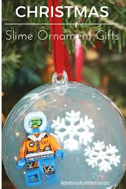 slime ornaments for kid made gifts to give and get this season