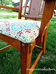 Recovering Chairs How To Recover A Dining Chair Seat What Meegan Makes
