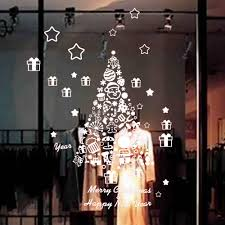 compare prices on wall sticker store online shopping buy low christmas background wall sticker removable wall store window stickers merry christmas decoration enfeites natal