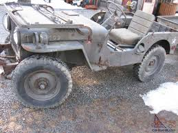 bantam jeep trailer willys m38 military jeep with m100 trailer rare original