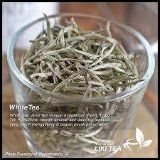 Teh Putih jual best seller liki tea white tea teh putih indonesia siver