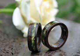 wood engagement rings ring wood wood rings for men 5 year anniversary wooden