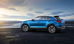volkswagen light blue vw t roc revealed news photos specs prices by car magazine