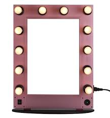 Cosmetic Mirror Professional Lighting Makeup Mirror Wall Mounted Lighted Makeup