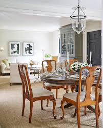 bungalow dining room home tour virginia cheek u0027s timeless airy bungalow how to decorate