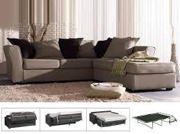 lolet canapé canapé d angle convertible tissu taïna 5 places cana havane
