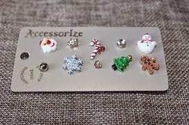 earrings accessorize josephine sparkles beauty blogmas 2014 2 festive earrings