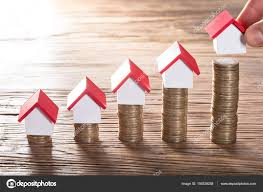 person placing house models u2014 stock photo andreypopov 150529258