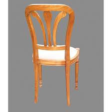 chaises louis philippe chaise louis philippe n 2 en hêtre et tissu meubles de normandie
