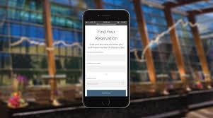 Reservation Desk Com Mobile Check In Aria Resort U0026 Casino